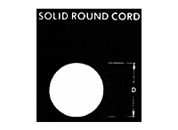 Solid Round Cord