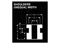 Shoulders Unequal Width